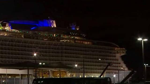 Cruise ship returns home after nightmare at sea
