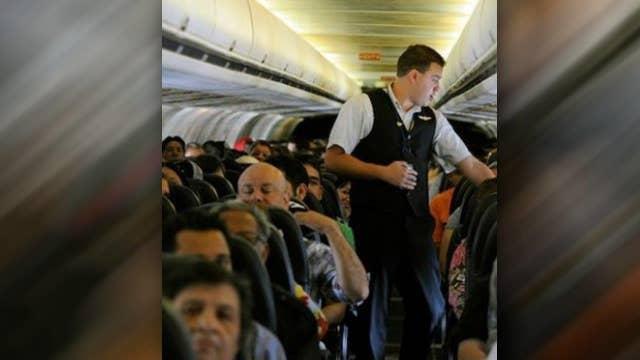 Congressman introduces bill to mandate wider airplane seats