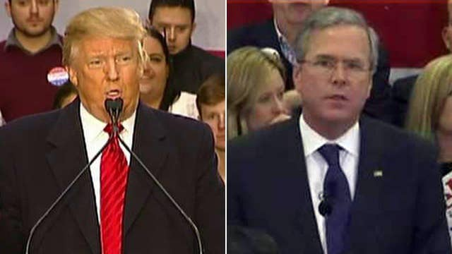 Jeb Bush says he's the only candidate who can take on Trump