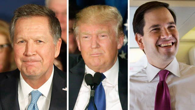 Rivals hope positive race will prevail over Trump's attacks