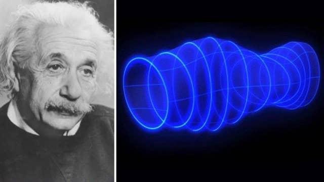 Scientists detect gravitational waves predicted by Einstein
