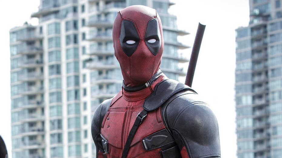 In the FoxLight: Ryan Reynolds as 'Deadpool'