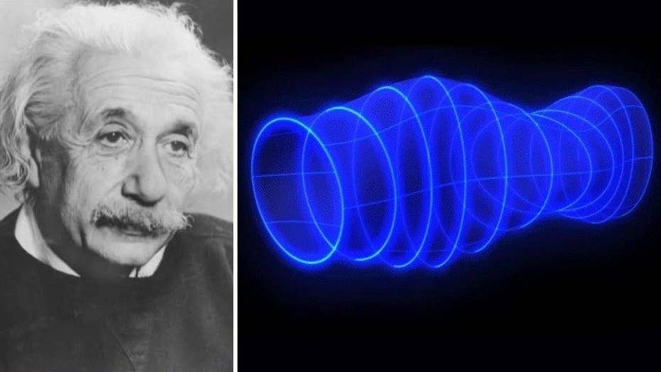 Scientists detect gravitational waves predicted by Einstein