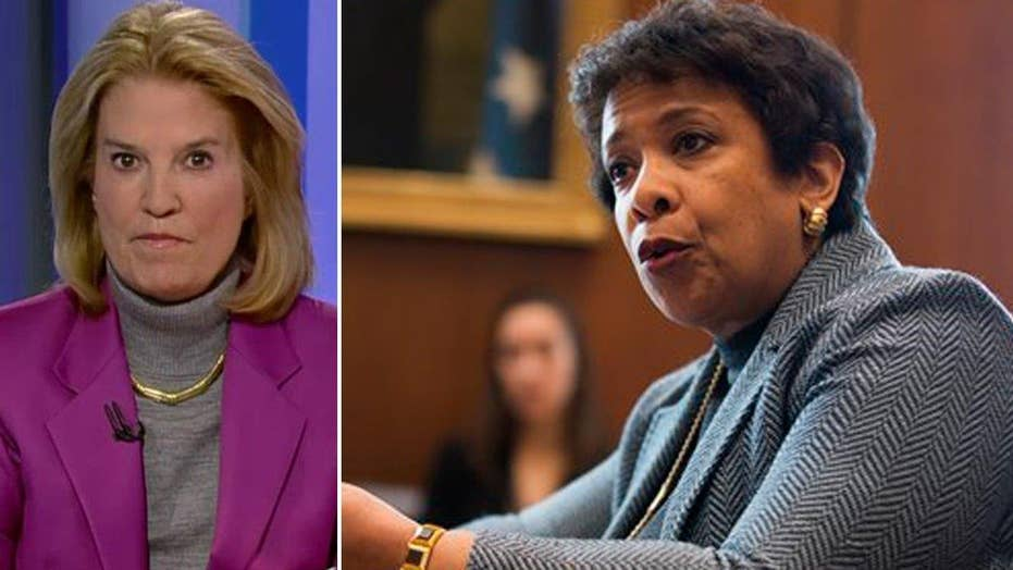 Greta: Morgan Stanley, AG Loretta Lynch make me sick