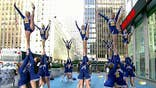 Springfield High School cheerleading team performs winning routine
