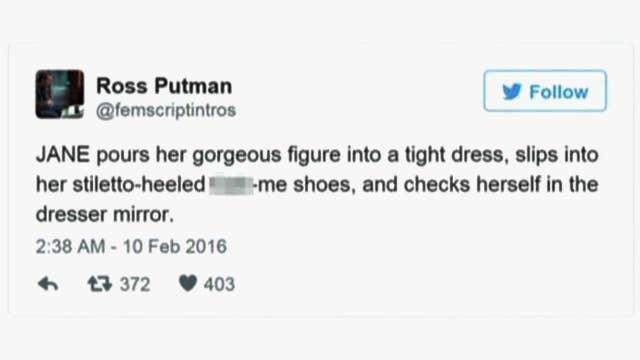 Film producer tweets sexist script descriptions of women