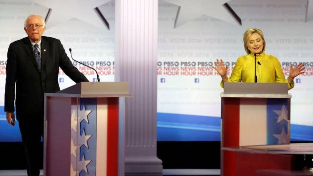 'That is a low blow': Fireworks at Democratic debate