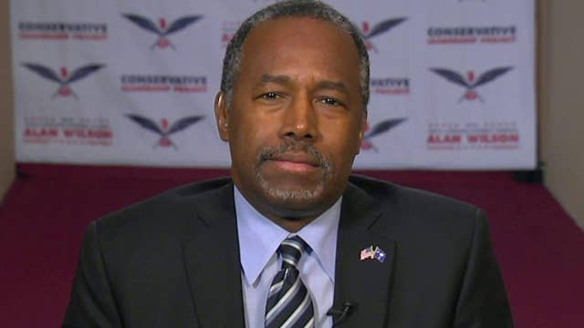 Dr. Ben Carson on how his values resonate in South Carolina
