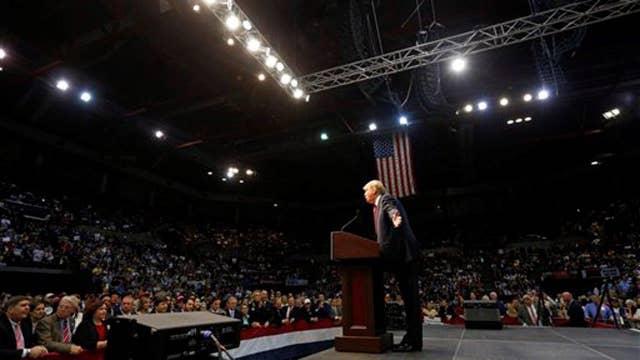 Trump swears off swearing as race heads to South Carolina