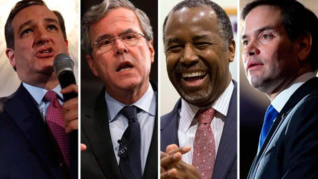 Four GOP candidates speak at 'Faith and Family' forum in SC