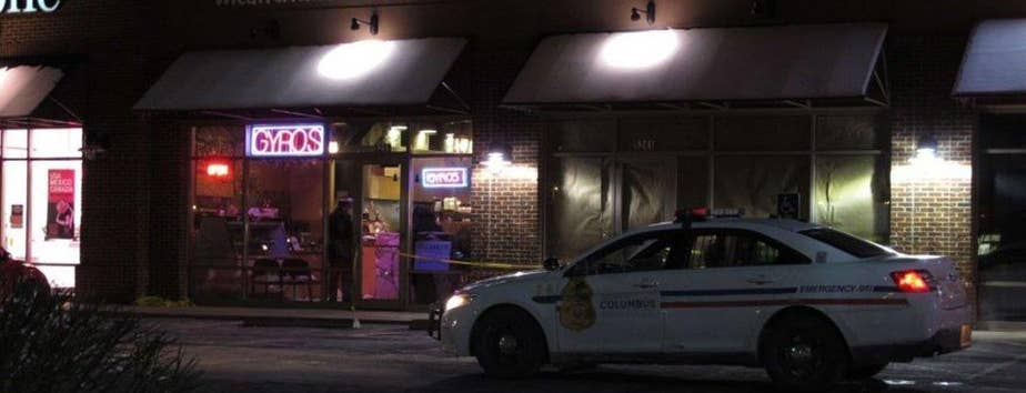 A man attacks customers at a restaurant, the suspect was shot and killed by police