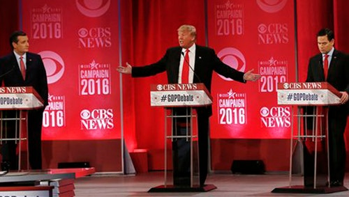 Fireworks erupt between Trump and Bush, Rubio and Cruz at GOP debate