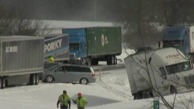 At least three people killed in Pennsylvania pile-up