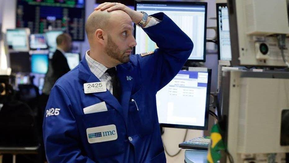 Wild market swings fuel fears of another deep recession
