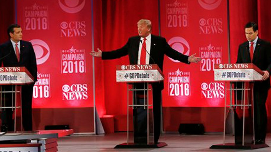 GOP presidential candidates spar in South Carolina debate