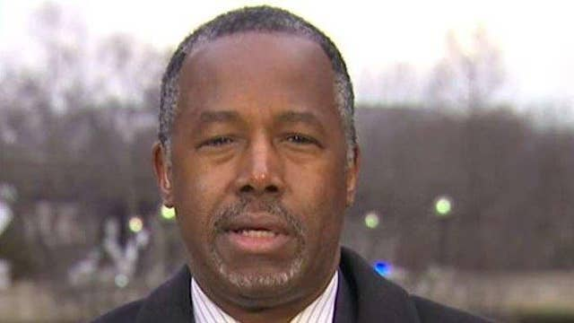 Ben Carson shares his thoughts on the Iraq War
