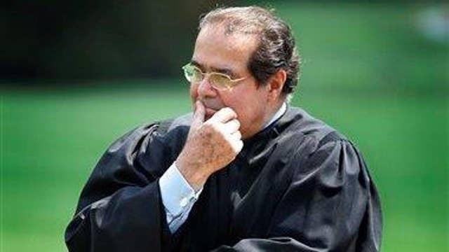Supreme Court justices remember Antonin Scalia
