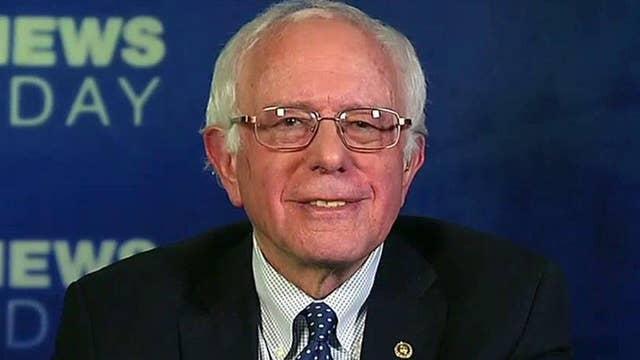 Bernie Sanders talks SCOTUS vacancy, campaign expectations