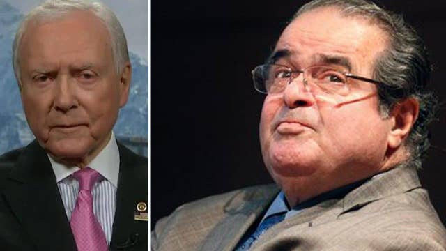 Orrin Hatch: Scalia was a respected founder of originalism