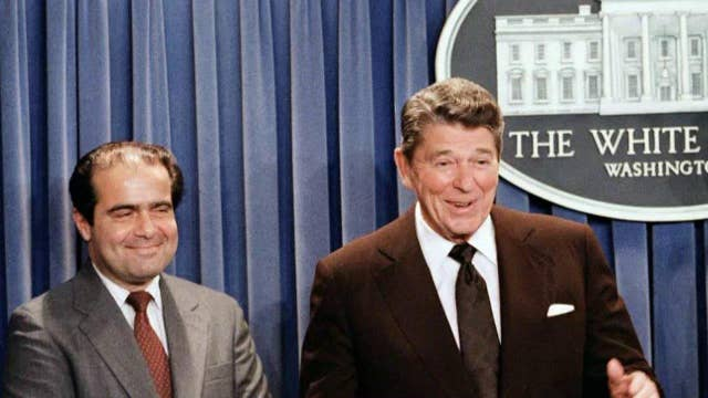 Insider perspective of the nomination of Justice Scalia