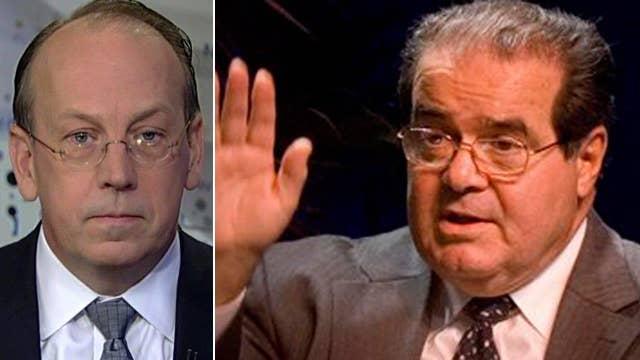 Justice Antonin Scalia's impact on the legal profession