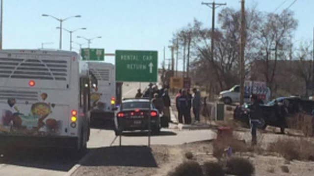 Police: Pipe bomb found near New Mexico airport