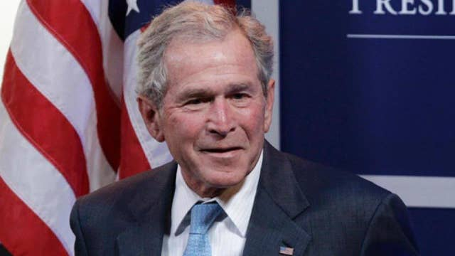 George W. Bush joins brother Jeb on the campaign trail