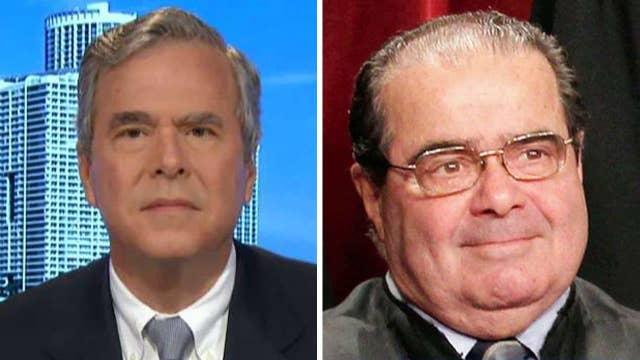 Jeb Bush speaks on replacing Justice Scalia