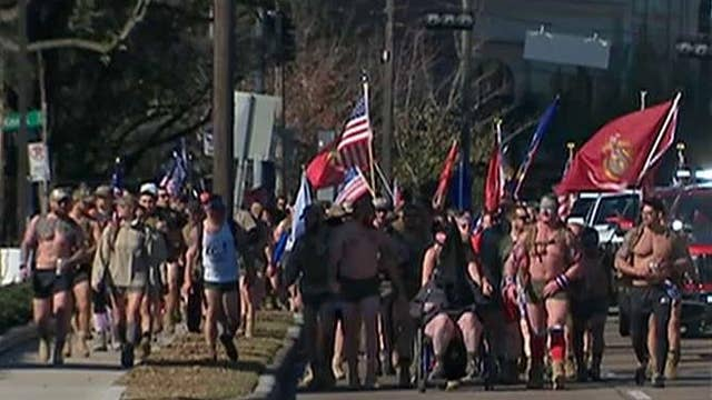 'Irreverent Warriors' hike to draw attention to vet suicides
