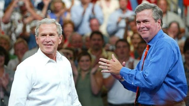 George W. Bush joining Jeb on campaign trail