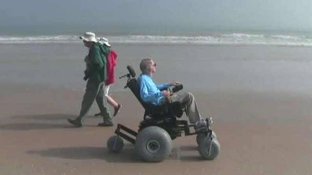 Florida man expands beach-friendly wheelchairs