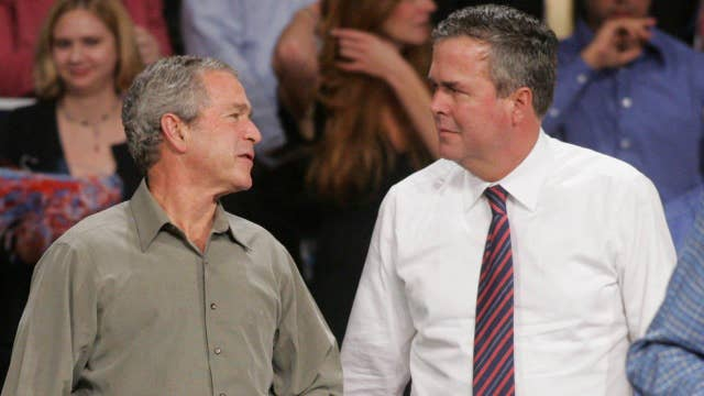Can George W. Bush save brother Jeb's campaign?