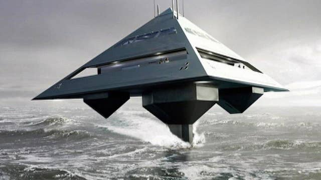 London-based architect gives new meaning to 'super yacht'