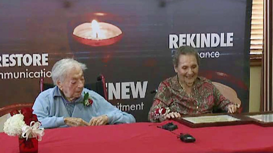 Two declared longest married couple in U.S.