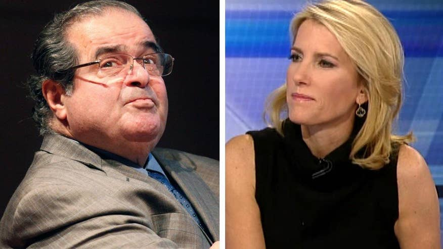 Radio host and former clerk for Clarence Thomas, Laura Ingraham, goes 'On the Record' on Justice Scalia's legacy and the political fight ahead