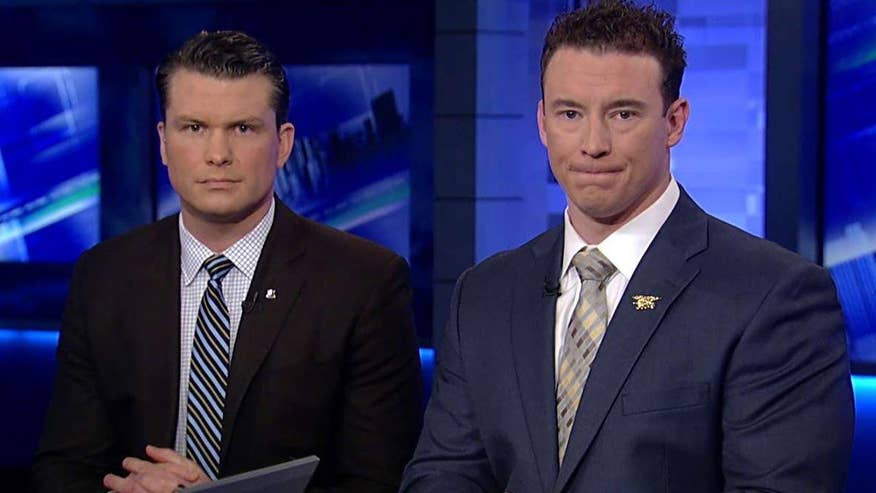 On 'The Kelly File,' Iraq War veterans respond to the presidential candidate's claims