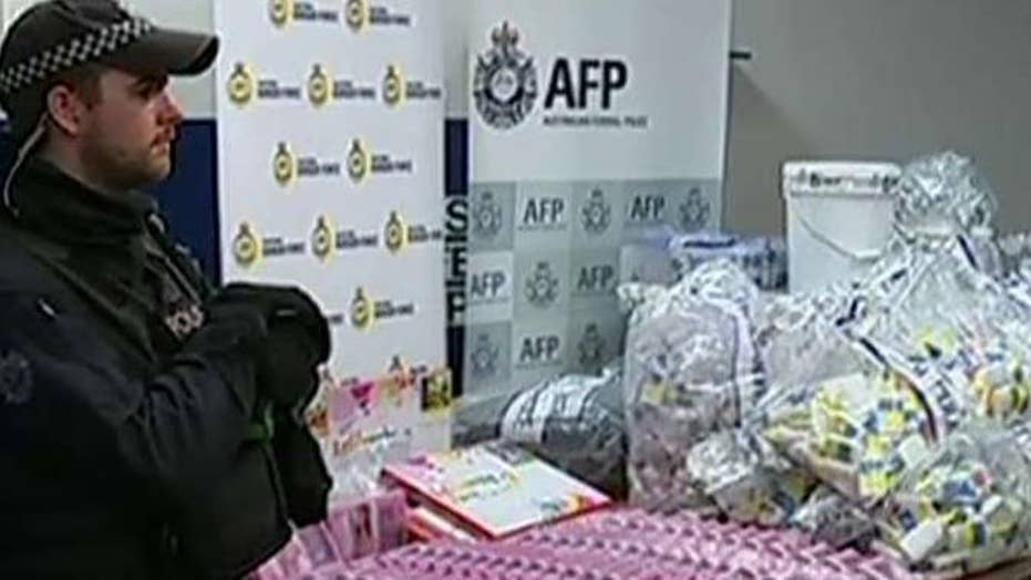 Police bust massive meth ring in Australia