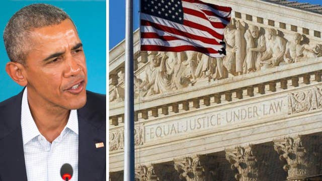 Is Obama making the Supreme Court nomination political?