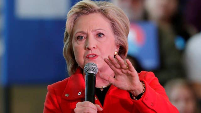 Clinton rants over SCOTUS fight