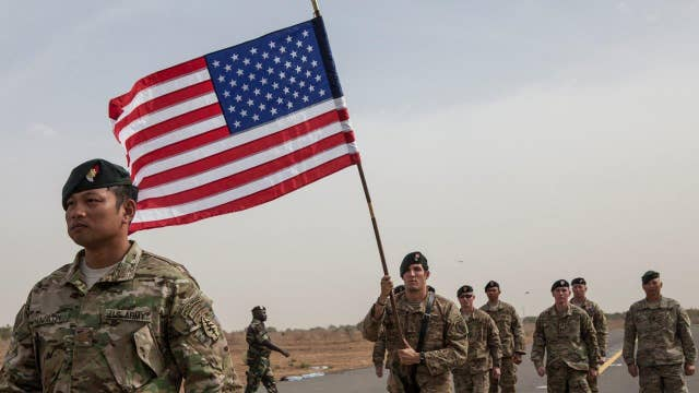 Poll: Only 49 percent see US as world's top military power