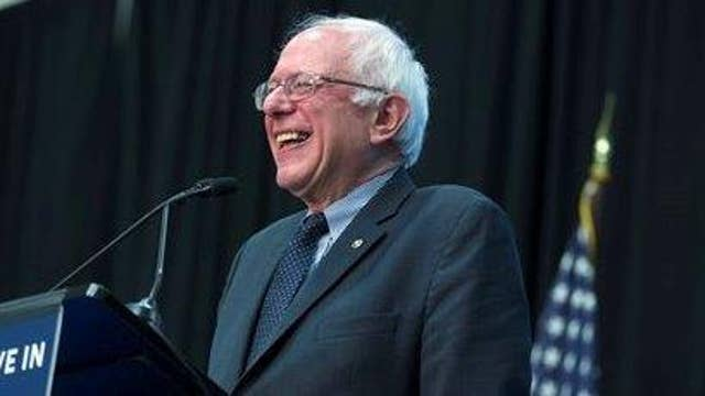 Sanders brands himself a Democratic socialist