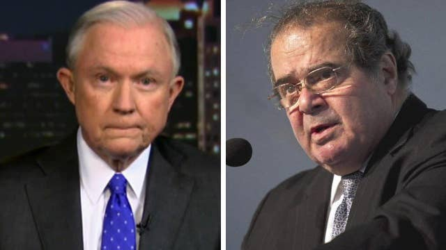 Sessions on the political firestorm over the Supreme Court