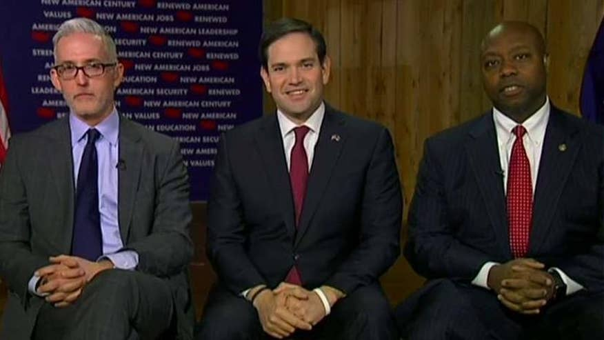 Congressman Trey Gowdy and Senator Tim Scott join GOP candidate Marco Rubio on 'Hannity'