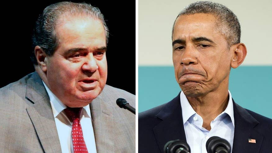 Republicans and president and Democrats have clearly taken their stand over when they believe Justice Scalia's seat should be filled and whether it should be under Obama's last months in office. Which side is risking the most? 'On the Record' panel debates