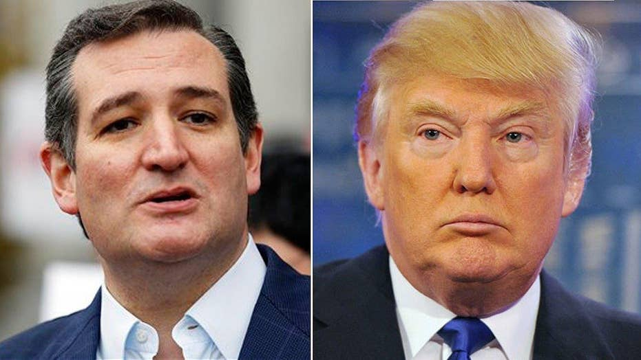 Donald Trump vs. Ted Cruz