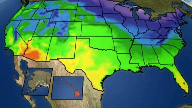 National forecast for Wednesday, February 17
