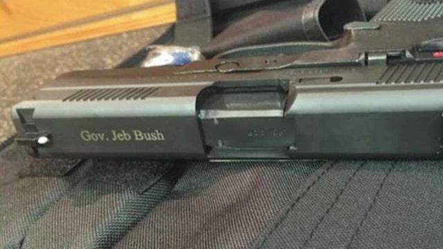 Social media goes crazy over Jeb Bush's gun photo