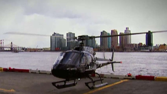 The Uber for helicopters and jets