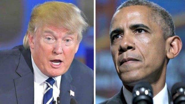 Obama blasts GOP frontrunner Donald Trump