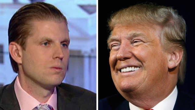 Eric Trump: My father couldn't be more Republican